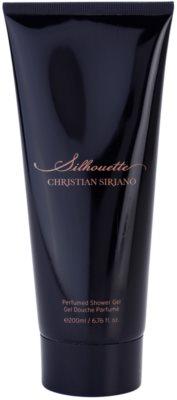 Christian Siriano Silhouette gel de duche para mulheres