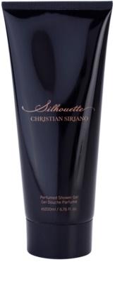 Christian Siriano Silhouette sprchový gel pro ženy