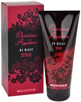 Christina Aguilera By Night gel de duche para mulheres