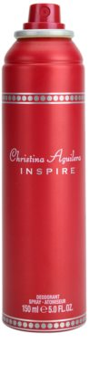Christina Aguilera Inspire desodorante en spray para mujer 1