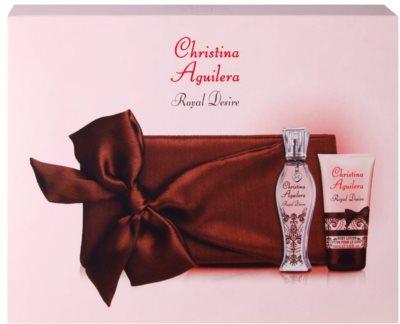Christina Aguilera Royal Desire dárková sada 3