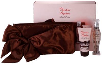 Christina Aguilera Royal Desire ajándékszett