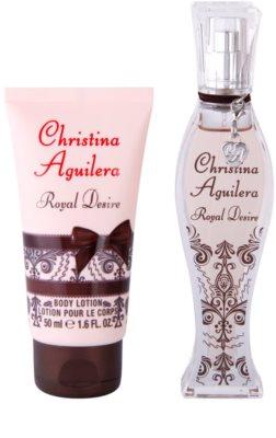 Christina Aguilera Royal Desire dárková sada 2