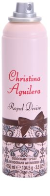 Christina Aguilera Royal Desire deodorant Spray para mulheres 1