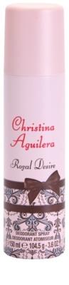 Christina Aguilera Royal Desire deodorant Spray para mulheres