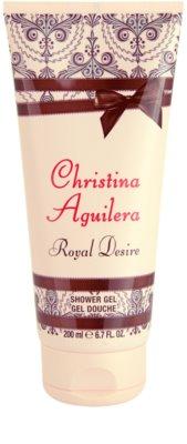 Christina Aguilera Royal Desire gel de dus pentru femei