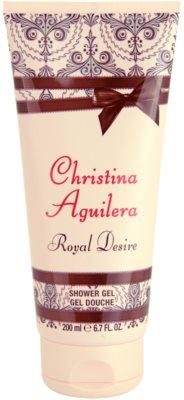 Christina Aguilera Royal Desire gel za prhanje za ženske