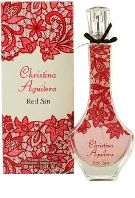 Christina Aguilera Red Sin parfémovaná voda pro ženy