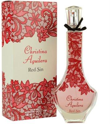 Christina Aguilera Red Sin parfémovaná voda pro ženy 1