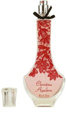 Christina Aguilera Red Sin parfémovaná voda pro ženy 4