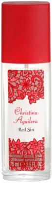 Christina Aguilera Red Sin desodorizante vaporizador para mulheres