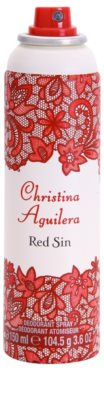 Christina Aguilera Red Sin Deo-Spray für Damen 1