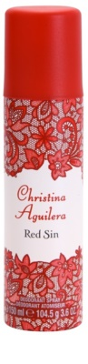 Christina Aguilera Red Sin Deo-Spray für Damen