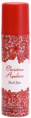 Christina Aguilera Red Sin дезодорант-спрей для жінок