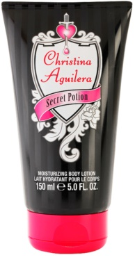 Christina Aguilera Secret Potion testápoló tej nőknek