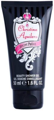 Christina Aguilera Secret Potion tusfürdő nőknek  teszter
