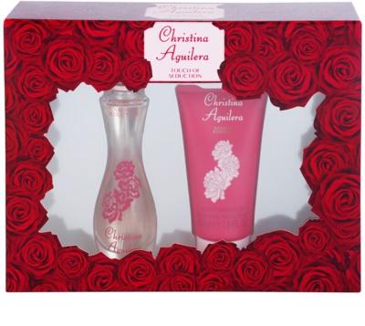 Christina Aguilera Touch of Seduction coffret presente