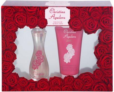 Christina Aguilera Touch of Seduction set cadou