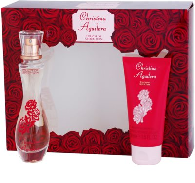 Christina Aguilera Touch of Seduction set cadou 1