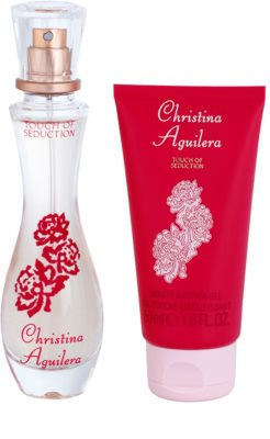 Christina Aguilera Touch of Seduction set cadou 2