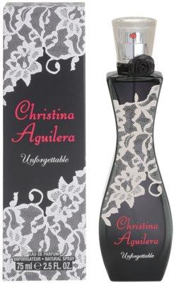 Christina Aguilera Unforgettable Eau de Parfum para mulheres