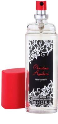 Christina Aguilera Unforgettable Perfume Deodorant for Women