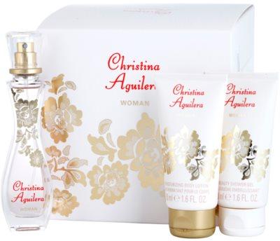 Christina Aguilera Woman Geschenkset