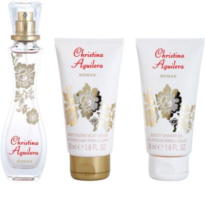 Christina Aguilera Woman coffret presente 2
