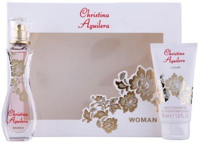 Christina Aguilera Woman Geschenksets 1