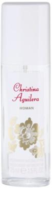 Christina Aguilera Woman deodorant s rozprašovačem pro ženy