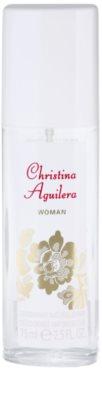 Christina Aguilera Woman desodorante con pulverizador para mujer