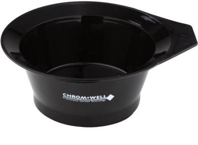 Chromwell Accessories Black recipiente para mezclar tinte de pelo