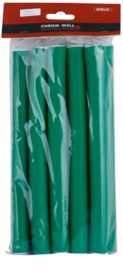 Chromwell Accessories Green Bendy Rollers - Large