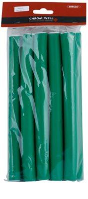 Chromwell Accessories Green große Schaum-Papilotten
