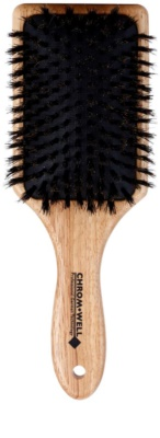 Chromwell Brushes Natural cepillo para el cabello
