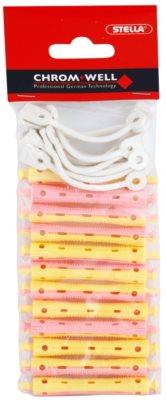 Chromwell Accessories Pink/Yellow Haarwickler für Dauerwelle