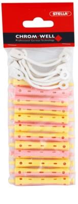 Chromwell Accessories Pink/Yellow ролки за трайно къдрене