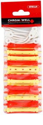 Chromwell Accessories Red/Yellow rodillos de la ondulación permanente