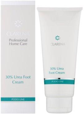 Clarena Podo Line 30% Urea интензивен хидратиращ крем за крака за суха към атопична кожа 1