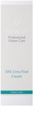 Clarena Podo Line 30% Urea интензивен хидратиращ крем за крака за суха към атопична кожа 2