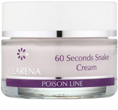 Clarena Poison Line 60 Second Snake crema con efecto lifting con efecto antiarrugas