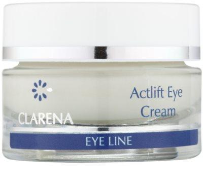 Clarena Eye Line Actlift Lifting-Augencreme für empfindliche Haut