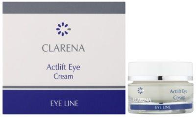 Clarena Eye Line Actlift Lifting-Augencreme für empfindliche Haut 1