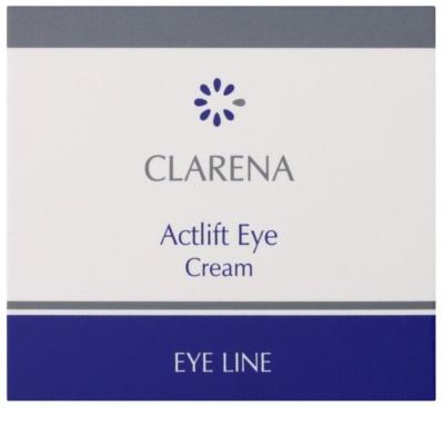 Clarena Eye Line Actlift Lifting-Augencreme für empfindliche Haut 2