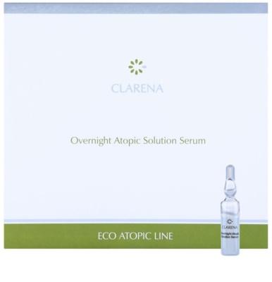 Clarena Eco Atopic Line beruhigendes Serum für die Nacht für atopische Haut
