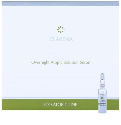Clarena Eco Atopic Line zklidňující noční sérum pro atopickou pokožku