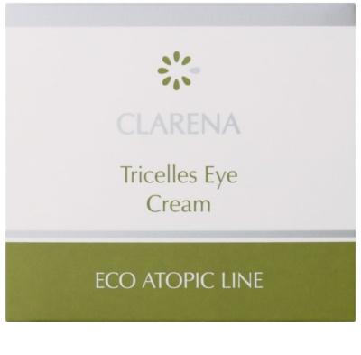 Clarena Eco Atopic Line Tricelles відновлюючий та зволожуючий крем для шкіри навколо очей з 3 видами стовбурових клітин для дуже сухої шкіри 2