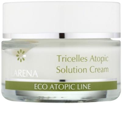 Clarena Eco Atopic Line Tricelles відновлюючий та зволожуючий крем з 3 видами стовбурових клітин для чутливої та подразненої шкіри