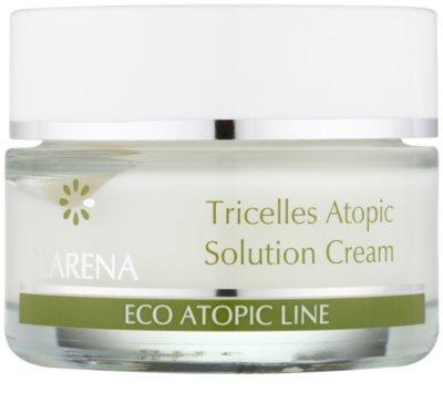 Clarena Eco Atopic Line Tricelles regenerační a hydratační krém se třemi druhy kmenových buněk pro citlivou a podrážděnou pleť