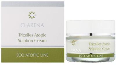 Clarena Eco Atopic Line Tricelles krem regenerujący i nawilżający z trzech typów komórek macierzystych do cery wrażliwej i skłonnej do podrażnień 1